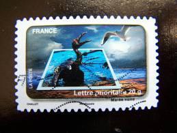 OBLITERE FRANCE ANNEE 2010 N° 404 LE TIMBRE FETE L´EAU LA MAREE NOIRE - France