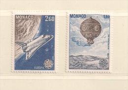 MONACO  ( D15- 4822  )  1983  N° YVERT ET TELLIER  N° 1385/1386    N** - Non Classés