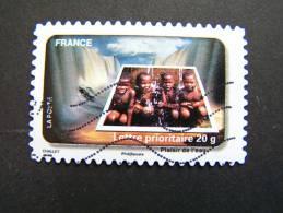 OBLITERE FRANCE ANNEE 2010  N° 410 LE TIMBRE FETE L´EAU PLAISIR DE L´EAU - France