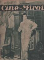 CINE MIROIR 9 10 1931 - PARIS BEGUIN JANE MARNAC JEAN GABIN  - GEORGE BANCROFT - OPERETTE - ANNA MAY WONG - - Cinéma/Télévision