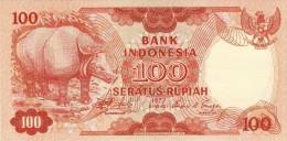 BILLET # INDONESIE # 100  RUPIAH  # SERATUS RUPIAH #  PICK 116 # 1977 #  NEUF # - Indonésie