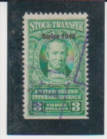 US United States  Scott # RD299 Used Catalogue $7.50 - Revenues