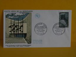 FDC- Hauts Lieux De La Résistance, Ile De La Cité - Paris - 23.3.1963 - 1er Jour, - 1960-1969