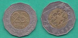 Croazia 25 Kune 1999  Bimetalliche  Unione Europea - Croazia