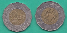 Croazia 25 Kune 1999 Croatia  Bimetalliche  Unione Europea - Croazia