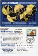 Space Shuttles ! Repro Pièces De Monnaies + Fac Similé Timbre  (63446) - Monnaies (représentations)