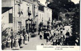 71  PARAY LE MONIAL  -  CONGRES EUCHARISTIQUE NATIONAL 5-8 JUIN 1921 - Paray Le Monial