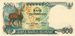 BILLET # INDONESIE # 500  RUPIAH  # LIMARATUS RUPIAH #  PICK 123 # 1988 #  NEUF # - Indonesia