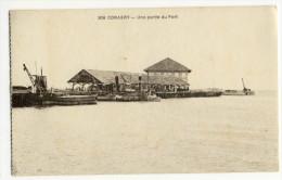 CONAKRY. - Une Partie Du Port. Beau Timbre - Guinée Française