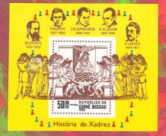 GUINEE BISSEAU 1983 Neuf** Echecs Echec Chess Ajedrez Schach Scacchi - Scacchi