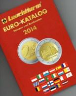 EURO-Katalog Deutschland 2014 Neu 10€ Münzen Für Numis-Briefe/ Numisblätter Aktulle Auflage Mit Banknoten Aller €-Länder - Fachliteratur