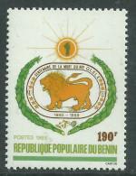 Bénin  N° 678  XX  Centenaire De La Mort Du Roi Glele Sans Charnière, TB - Benin - Dahomey (1960-...)