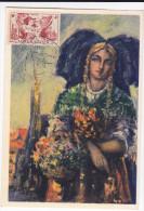 Carte-Maximum FRANCE  N°Yvert 739 (LIBERATION) Obl Sp Ill Strasbourg 31.5.52 (Ed Yvon) - 1950-59