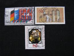 BRD  1034 - 1035 - 1036   O - [7] République Fédérale