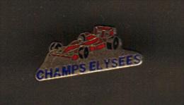 32281-Pin's.F1.rallye Automobile.Champs Elysées. - F1
