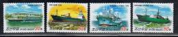 NORTH KOREA 2013 SHIPS SET - Ships