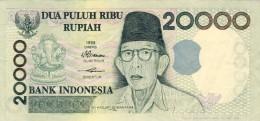 BILLET # INDONESIE # 20000  RUPIAH  # DUA PULUH RIBU RUPIAH #  PICK 138 # 1998 # CIRCULE  # - Indonesia