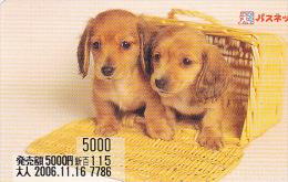 JAPON / TITRE DE TRANSPORT TOKYO / - Dogs
