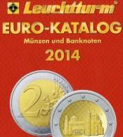 Coins EURO Katalog Deutschland 2014 Für Münzen Numisblätter Numis-Briefe New 10€ Mit €-Banknoten Catalogue Of EUROPA - Autres Collections