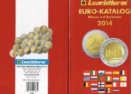 EURO-Katalog Deutschland Und €-Länder 2014 New 10€ Münzen Für Numis-Briefe/Numisblätter Banknoten ISBN 978-3-00-000695-1 - Télécartes