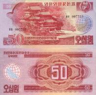 Billet De COREE Du NORD De 50 Won   Pick 38. (rare) - Corea Del Nord