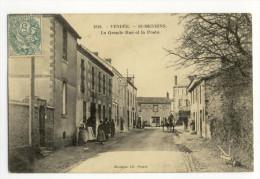 SAINT-MESMIN. - La Grande-Rue Et La Poste - France