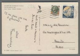 C286 Italia Storia Postale 1982 SIRACUSANA Lire 170 CASTELLO 30 - 6. 1946-.. Repubblica