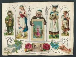 Découpis  Gaufrés. Enfants, Animaux, Fleurs, Mains, Couple,Messages D´amitié, Voeux,  Souvenir D´une Amie. - Découpis