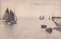 Al - Cpa AUDIERNE - L'Entrée Du Port - Audierne