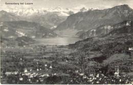 Postkaart Zwitserland A225     Sonnenberg Bei Luzern - Ohne Zuordnung