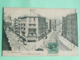 BARCELONA - Callles De Pelayo Y Balmes - Barcelona