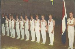 0123. Heren Keurkorps Turnen - Blue Band. Sportboek: 40 Sporten In Woord En Beeld. - Sport