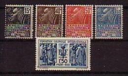 France N° Yvert 270/274 ** - France