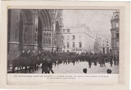 PARIS(75007)/POLITIQUE/EV ENEMENTS/RELIGIONS/SEPARA TION DE L'EGLISE ET DE L'ETAT/A Sainte Clotilde.Le Service D'ordre E - Eventi