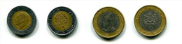5 Dinars 1987 Et 10 Dinars 1995 - Marruecos