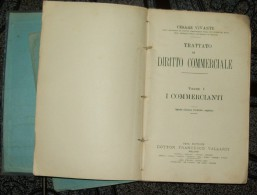 ITALY-TRATTATO DI DIRRITO COMMERCIALE,VOL I - CESARE VIVANTE - Lotti E Collezioni
