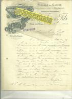 61 - Orne - FLERS - Facture LANGLOIS - Tissu Pour Ameublement – 1903 - 1900 – 1949