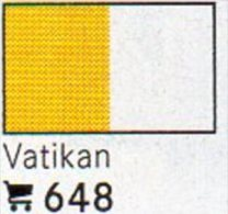 Set 6 Flaggen-Sticker Vatikan In Farbe 4€ Zur Kennzeichnung Von Alben Und Sammlungen Firma LINDNER #648 Flag Of VATICANO - Matériel