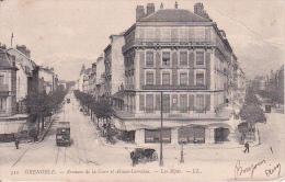 CPA Grenoble - Avenue  De La Gare Et Alsace-Lorraine - Les Alpes - 1904 (0009) - Grenoble