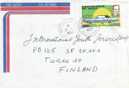 Mali 1986 Bamako GM Tri Henry Ford Car Thunderbird Cover - Mali (1959-...)