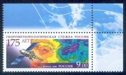 RUSSIA 2009 MNH (**) VF HYDROMETEOROLOGY HYDROMETEOROLOGIE METEOROLOGY METEO CLIMATE GEOPHYSICS SPACE ESPACE SATELLITE - Raumfahrt