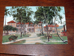 Carte Postale Ancienne : BELIZE : Government Buildings - Belize