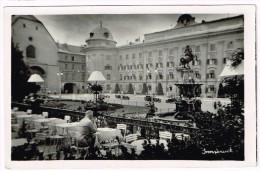 I1788 Innsbruck - Leopoldsbrunnen - Auto Cars Voitures / Viaggiata 1949 - Innsbruck