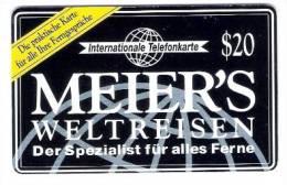 Deutschland - Prepaid Card - Meier`s Weltreisen - $20 - Germany
