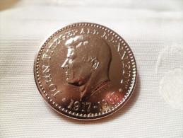 Médaille Commémorative De J.F.Kennedy - Signée MAUVIEL - CUPRO-NICKEL - Firma's