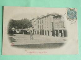REALMONT - Place De L'Eglise - Realmont