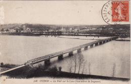 OUDON -  Le Pont Sur La Loire ( 800 M De Longueur ) - Oudon