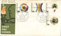(565) Papua New Guinea Island FDC Cover - 1968 - Papouasie-Nouvelle-Guinée