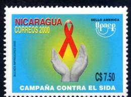 Nicaragua 2000 -  UPAEP - America Issue - Campaign Against AIDS - SIDA - Nicaragua
