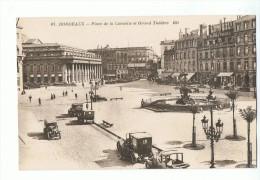 CPA - 33 - BORDEAUX - Place De La Comédie Et Grand Théâtre - BR 67 - Bordeaux